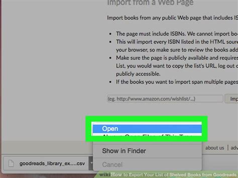 How To Search For On Goodreads How To Export Your List Of Shelved Books From Goodreads 8 Steps