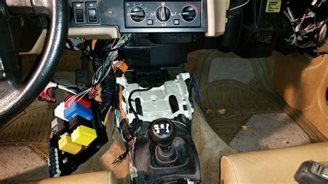 replacing wiring for the heater console console