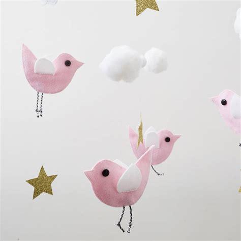 pattern for felt bird mobile felt bird mobile by the secret craft house
