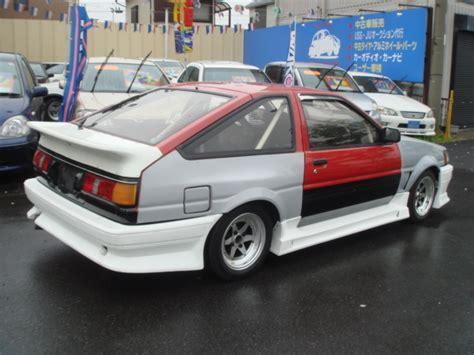Toyota Ae86 For Sale Toyota Corolla Levin Ae86 Gt Apex For Sale Car On Track