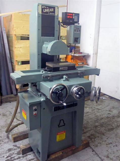 6 Quot X 12 Quot Manual Reciprocating Table Surface Grinder