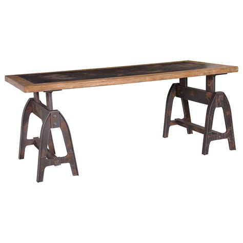 industrial dining trestle table by out there interiors