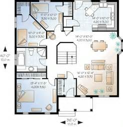 house plans 3 bedroom economical three bedroom house plan 21212dr 1st floor