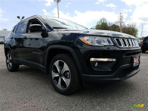 jeep compass all black 2017 2017 jeep compass latitude 4x4 in black 627565 all