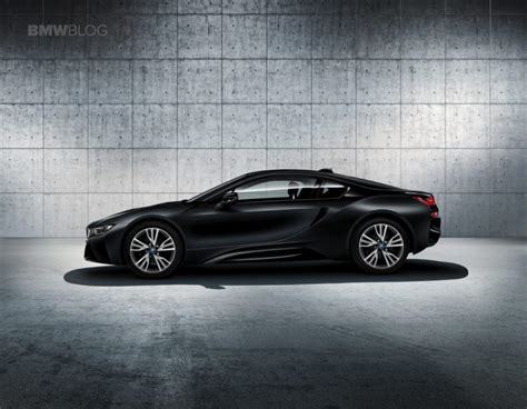 Frozen In Black by World Premiere Bmw I8 Protonic Frozen Black Edition And