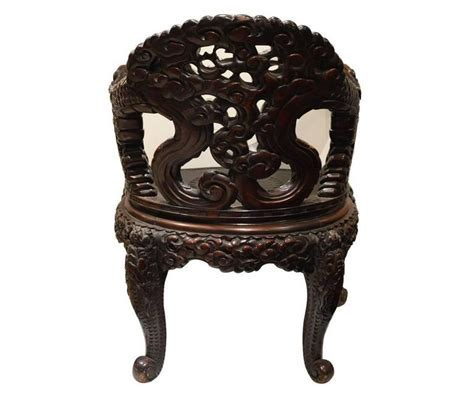dragon armchair chinese carved dragon armchair at 1stdibs