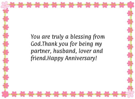 thank you letter to husband on anniversary happy anniversary message for husband