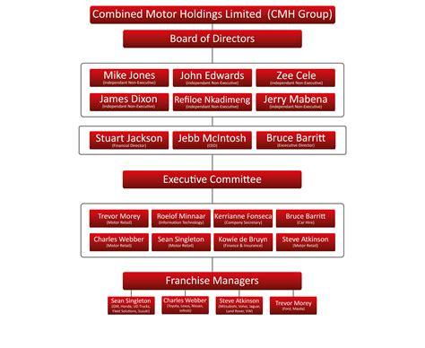 group structure cmh