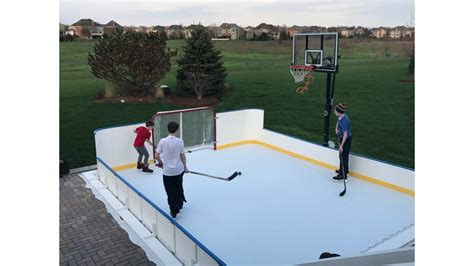 Backyard Hockey Rink Liners by Rink Liners Rink Tarps Outdoor Rink Liners