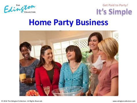 Home Decor Party Business | the edington collection home decor home party business