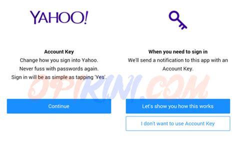 email yahoo hilang yahoo account key cara log in ke email yahoo tanpa password