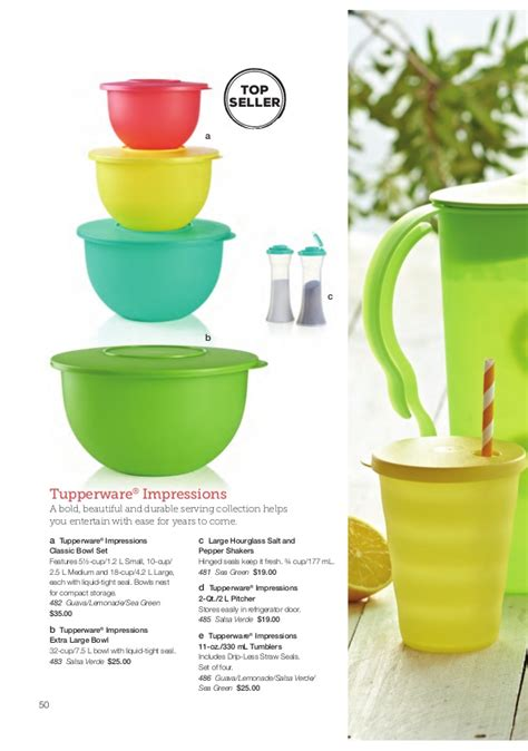 Tupperware Summer Collection tupperware summer 2015 catalog