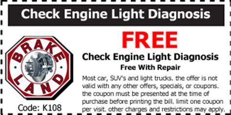 Free Check Engine Light by Home Www Brakeland