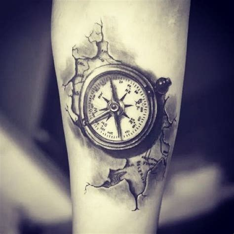 compass tattoo piece 23 great compass tattoo ideas for men styleoholic