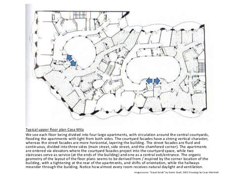 casa batllo floor plan presentation on barcelona architecture of gaudi jujol more