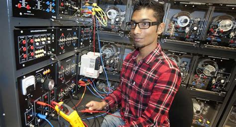 electrical engineering technician time program georgian college