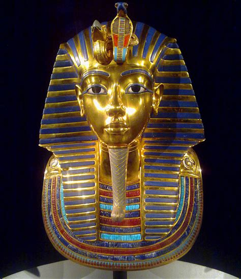 death mask of tutankhamun flickr photo sharing