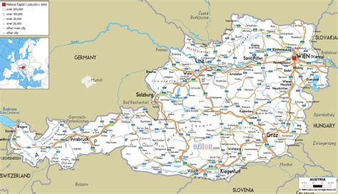 printable european road map austria prices costs by topic local tips 2017 the vore