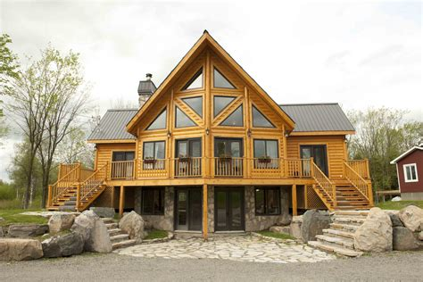 custom log cabin homes cavareno home improvment