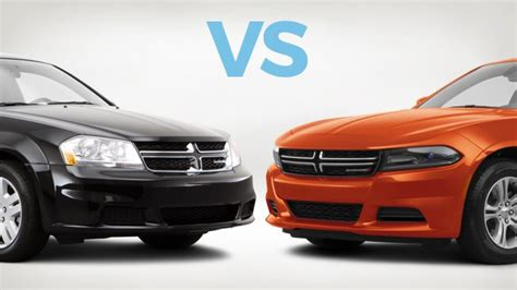 dodge charger avenger which to buy dodge charger vs dodge avenger carmax