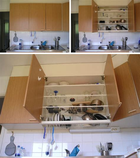 Kitchen Cabinet Plate Organizers dish draining closet space saver every home should have