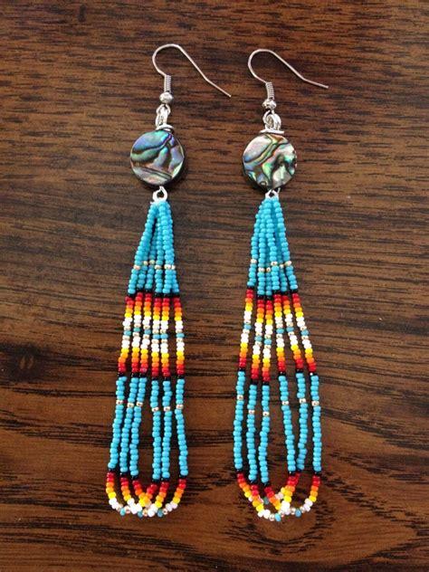 beadwork earrings handmade beaded earrings earrings