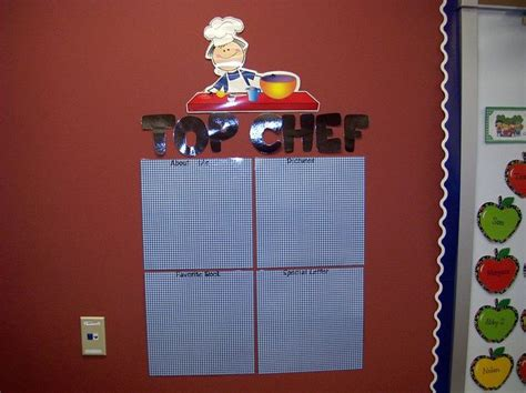 cooking board pin by ashley gach on my future classroom pinterest