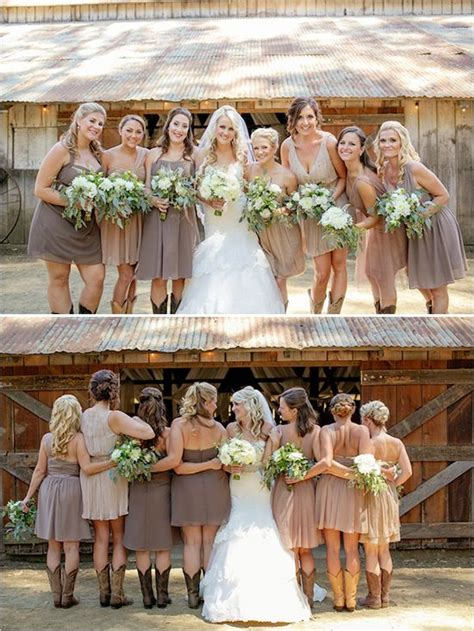 country wedding colors best 25 country bridesmaid dresses ideas on