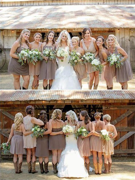 Fabulous Rustic Barn Wedding   Bridesmaids   Wedding