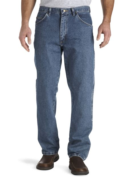 Wrangler Rugged Wear Relaxed Fit Jeans by Wrangler Rugged Wear Relaxed Fit Jeans Casual Male Xl Big