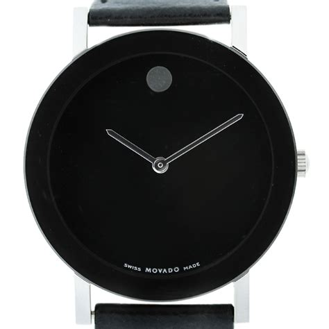 Watches Black movado limited edition m 125 all black