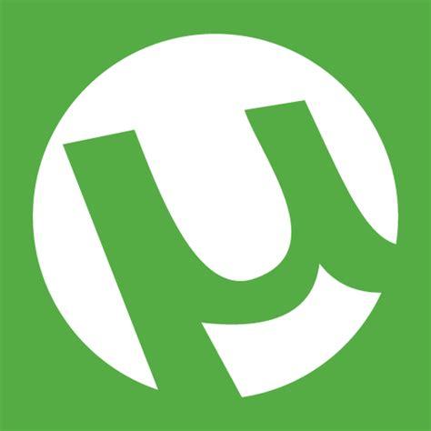 blue utorrent utorrent icon logo free icons