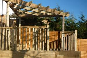 Outdoor Entertaining Structures - garden pagodas and wooden decking in high wycombe bucks