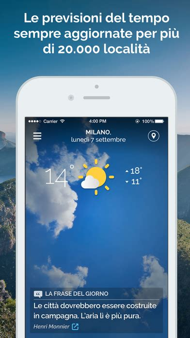 mobile meteo it meteo it app report on mobile