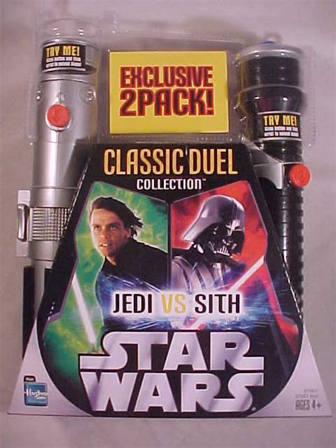 Kaos Classic Lightsaber Wars classic duels basic lightsaber 2 pack luke darth vader wars collectors archive