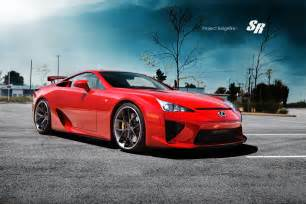 lexus lfa on pur wheels autoevolution