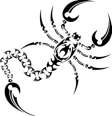 tribal scorpion tattoo designs scorpion tribal tattoos cool tattoos bonbaden
