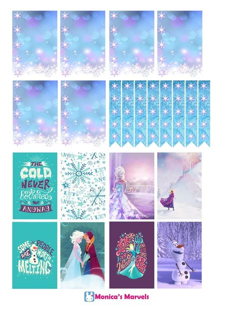 mambi planner free printable quot sticker kit quot frozen the happy planner by mambi sticker