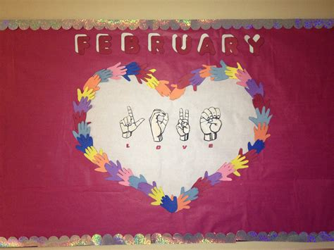 february themes in kindergarten february bulletin board preschool month february