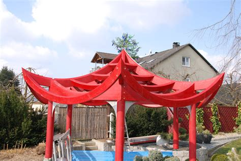 cadwork chinesischer pavillon triefenstein