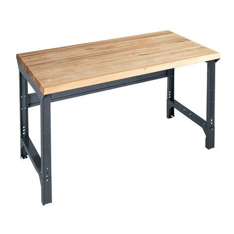 sears tool bench adjustable height 6 maple workbench workbench for any room at sears