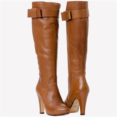 brown leather boots crispy fashion trends
