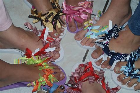 Flip Flop Decorating Ideas by Decorating Flip Flops Picture Image By Tag