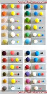 what color will be created by mixing 5 with 9 17 best ideas about color mixing chart on