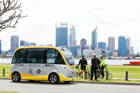 rac intellibus automated vehicle trial rac wa