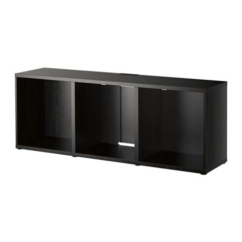 ikea tv besta best 197 tv bench black brown ikea