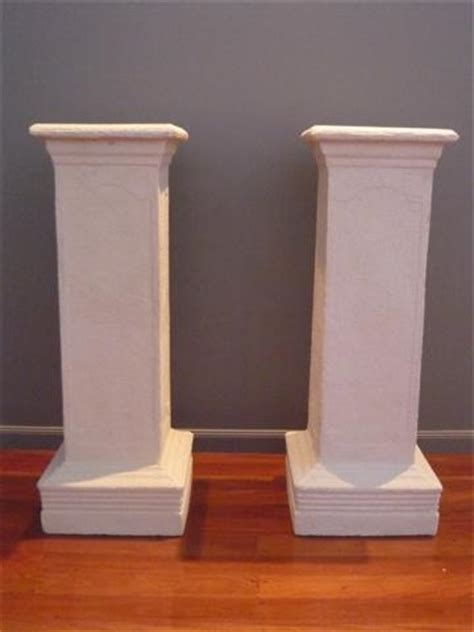 Wedding Aisle Pedestal by 4x Photography Props Plastic Pillars Column Pedestal