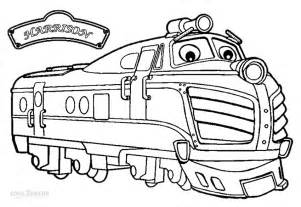 printable chuggington coloring pages kids cool2bkids