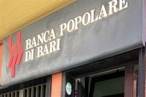 Banca Popolare Di Bari by Molfetta Banca Popolare Di Bari L Indagine Della Procura