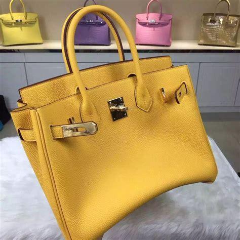 Hermes Bag Kayu Yellow stitching hermes 9h soleil yellow togo calfskin leather birkin bag 30cm hermes